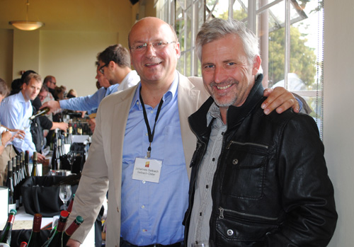 Johannes Selbach, Selbach-Oster and Kerry Winslow, grapelive (June 2013)