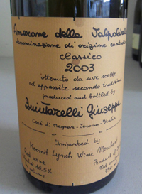 2003QuintarelliAmarone