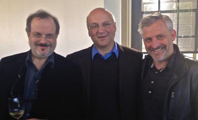 Terry Theise, Johannes Selbach and Kerry Winslow-Jan 2014