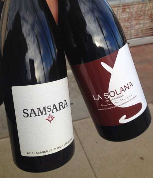 Two Headturners: Samsara Grenache and Suertes del Marques La Solana